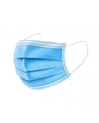 surgical face mask medical 3 layers CE ffp2 nonwovenm antibacterial mask 3 ply face mask disposable