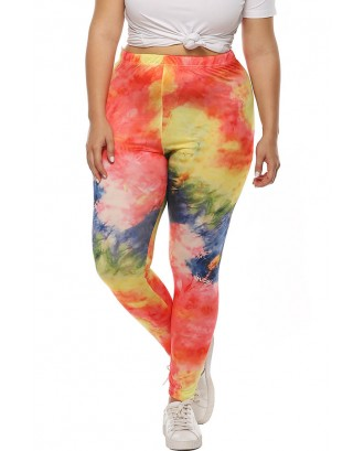 Lovely Casual Printed Multicolor Plus Size Pants