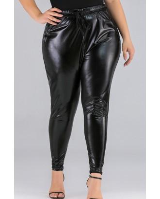Lovely Work Skinny Black Plus Size Pants